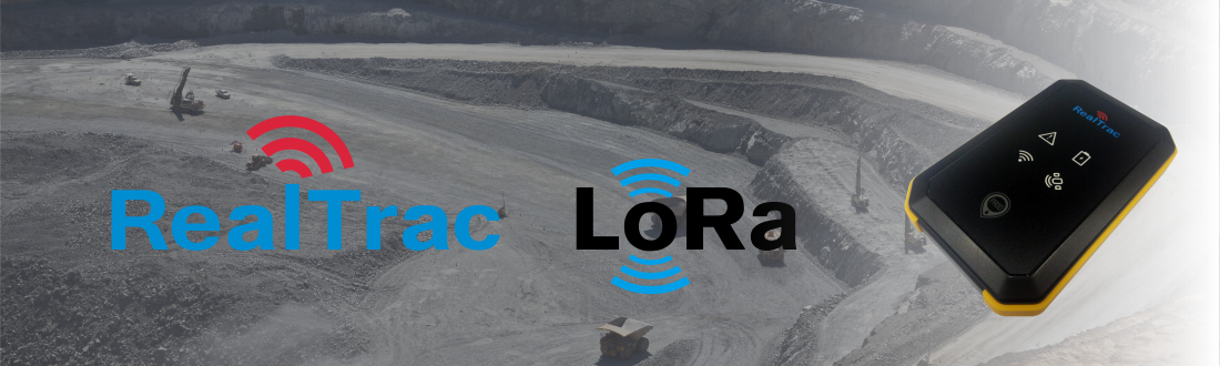 RealTrac Positioning now includes LoRa data transmission technology