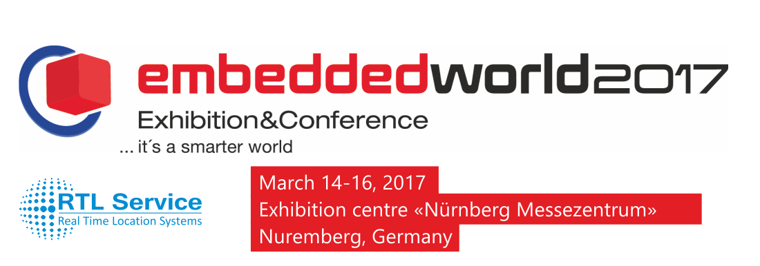 RTL Service Ltd, Took Part in Embedded World 2017 International Exhibition