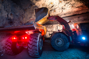 Scalable Positioning, Safety, and Communication System for Underground Mining