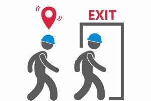 Контроль эвакуации персонала
