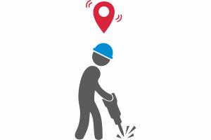 Контроль местоположения рабочих на территории предприятия