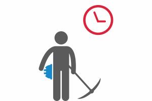 Контроль рабочего времени и уровней доступа персонала